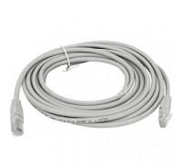 Cablexpert Патч-корд UTP PP12-5M кат.5, 5м, литой, многожильный (серый)