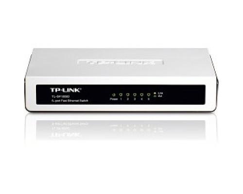TP-Link TL-SF1005D 5-портовый 10/100 Мбит/с настольный коммутатор SMB