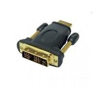 Gembird HDMI-DVI 19M/19M(папа-папа), золотые разъемы A-HDMI-DVI-1