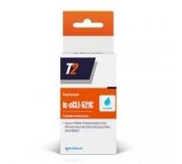 T2 CLI-521C (IC-CCLI-521C) Картридж для Canon PIXMA iP3600/4600/4700/MP540/620/630/980, голубой, с чипом