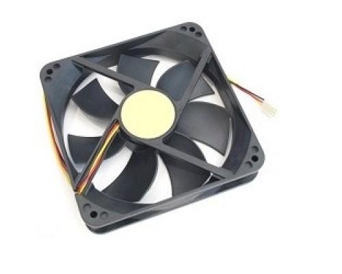 Вентилятор Gembird 40x40x10, подшипник, шнур 7см, 3pin D40BM-12A