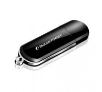 Silicon Power USB Drive 16Gb Luxmini 322 SP016GBUF2322V1K USB2.0, Black