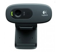 960-001063 Logitech HD Webcam C270, USB 2.0, 1280*720, 3Mpix foto, Mic, Black