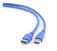 Gembird PRO CCP-USB3-AMAF-6, USB 3.0 кабель удлинительный 1.8м AM/AF позол. контакты, пакет