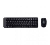 920-003169 Logitech + мышь Wireless Combo MK220 Black USB