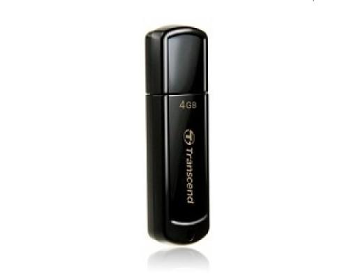 Transcend USB Drive 4Gb JetFlash 350 TS4GJF350 черный USB 2.0