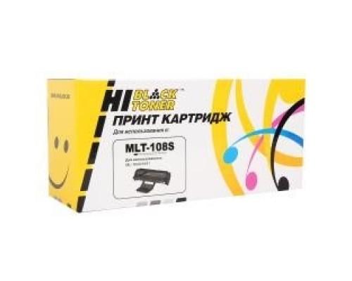 Hi-Black MLT-D108S Картридж для ML1640/1641/2240/2241, Black с чипом, 1500 стр.