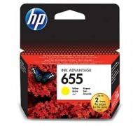 HP CZ112AE Картридж №655, Yellow DeskJet IA 3525/5525/4615/4625, Yellow