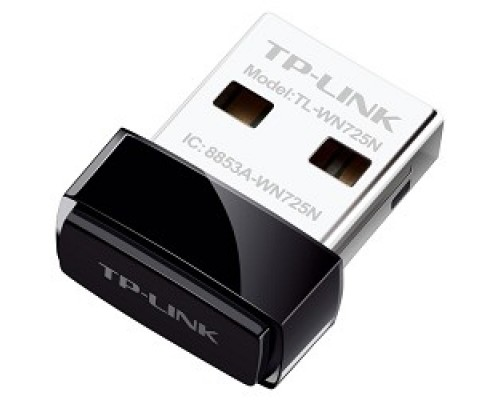 TP-Link TL-WN725N N150 Ультракомпактный Wi-Fi USB-адаптер