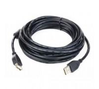 Gembird/Cablexpert CC-USB2-AMAF-6B USB 2.0 кабель удлинительный 1.8м AM/AF ,черный, пакет
