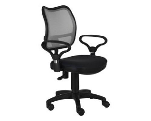 Бюрократ Ch-599AXSN/TW-11 Кресло (спинка черная сетка, сиденье черный TW-11) 664000