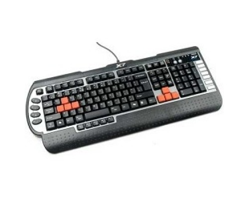 Keyboard A4Tech G800V черный USB Multimedia Game