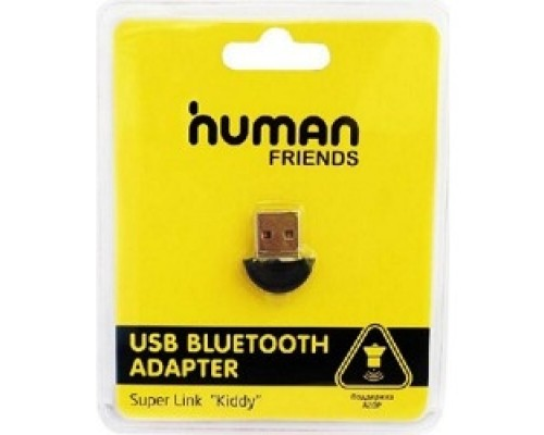CBR Адаптер Bluetooth Human Friends Kiddy, V4.0, A2DP, 3 Мбит/сек., Kiddy