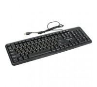 Gembird KB-8320U-Ru_Lat-BL, черный, USB, кнопка переключения RU/LAT,104 клавиши