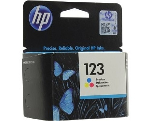 HP F6V16AE Картридж №123, color DJ 2130 (100стр.)