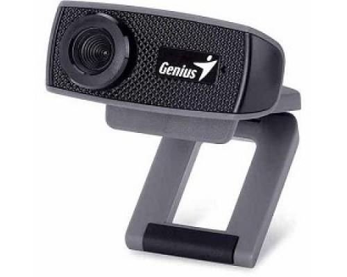 Web-камера Genius FaceCam 1000X Black 720p HD, универсальное крепление, микрофон, USB 32200003400