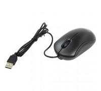 CBR CM 112 Black USB, оптика, 1200dpi, офисн., провод 1.1 метра