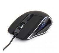 Gembird MG-500 USB игровая, 5 кнопок+колесо-кнопка, 1600DPI, 1000 Гц, подсветка