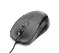 Gembird MOP-100 Black USB, 1000DPI