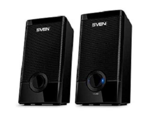 SVEN 318 черный USB-порт ПК, ноутбука или адаптер 5V DC