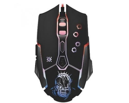 Defender Killer GM-170L 52170 Проводная игровая мышь, оптика,7кнопок,800-3200dpi