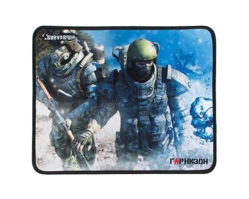 Коврик для мыши Гарнизон GMP-105, игровой, дизайн - игра Survarium, ткань/резина, размеры 200 x 250