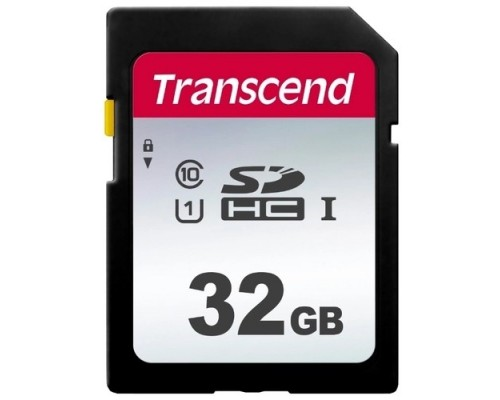 SecureDigital 32Gb Transcend TS32GSDC300S SDHC Class 10, UHS-I