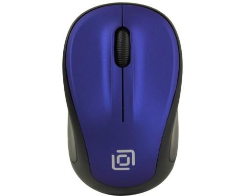 Oklick 665MW черный/синий оптическая (1000dpi) беспроводная USB (3but) 1025132