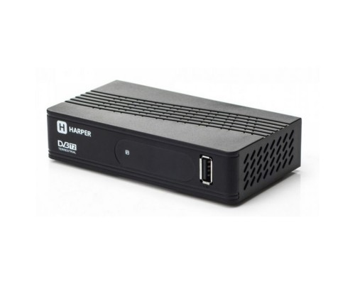 HARPER HDT2-1202 YOUTUBE, DOLBY DIGITAL, Процессор: Sunplus 1509C; Разрешение видео: 480i, 480p, 576i, 576p, 720p, 1080i, Full HD 1080p; Поддерживаемые форматы мультимедиа: AVI, MKV, VOB