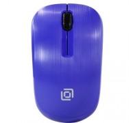 Oklick 525MW синий оптическая (1000dpi) беспроводная USB (2but) 1090723