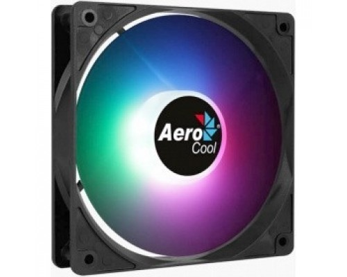 Fan Aerocool FROST 12 PWM FRGB 4P / 120mm/ 3pin+4pin/ RGB led