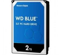 2TB WD Blue (WD20EZAZ) Serial ATA III, 5400 rpm, 254Mb buffer