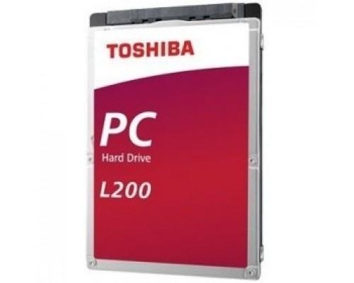 1TB Toshiba L200 Slim (HDWL110UZSVA/HDKCB88ZKA01T) SATA-III, 5400RPM, 128MB, 2.5, 7mm
