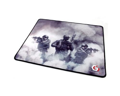 Коврик для мыши Gembird MP-GAME35, рисунок- солдаты, размеры 437*350*3мм, ткань+резина, оверлок