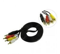 Exegate EX284945RUS аудио ExeGate EX-CCA-4P2R-2.0 (3.5mm Jack M/3xRCA M, 2м)