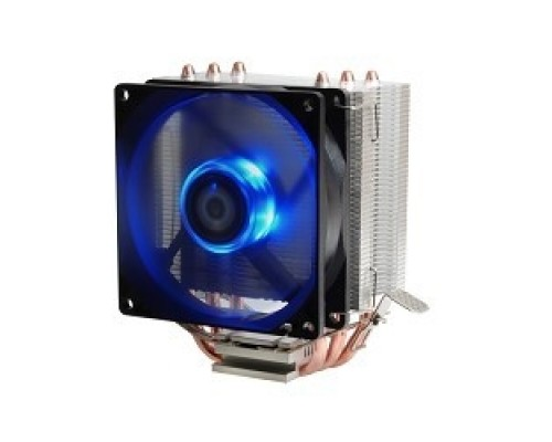 Cooler ID-Cooling SE-903-B_V2 130W/PWM/ Blue LED/ Intel 775,115*/AMD