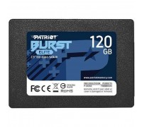 Patriot SSD 120Gb Burst Elite PBE120GS25SSDR SATA 3.0