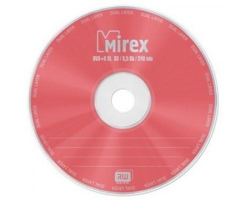 Mirex DVD+R 8.5 Gb, 8x, Slim Case (1), Dual Layer (1/50) (UL130062A8S) (204190)