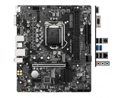 MSI H510M-A PRO RTL LGA 1200, Intel H510, mATX