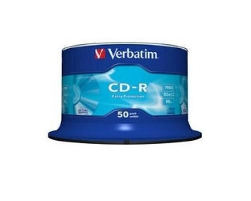 Verbatim и CD-R 50 шт. 48/52-x 700Mb, Cake Box (43351) 1/50