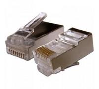 Gembird коннектор кат 5, экранированный RJ45 FTP8P8C(100 шт. в уп.) 1/100