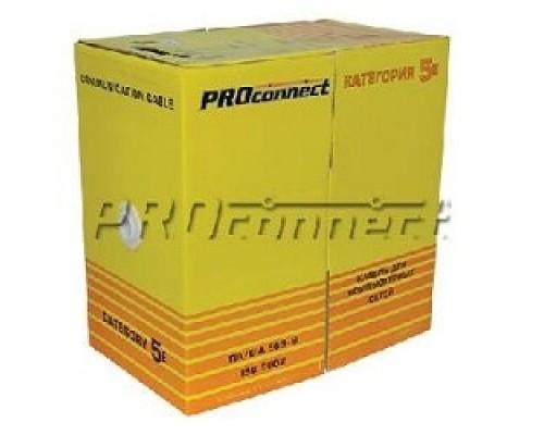 Proconnect (01-0142-3) FTP CAT5e 4 пары (305м) 0.51 мм CCA 1/305