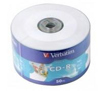 Verbatim и CD-R 80min, 700mb, 52x Shrink/50 Ink Print 43794 1/50