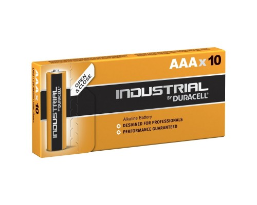 DURACELL Industrial (PROCELL) LR03/10BOX NEW (10/100/35000) (10 шт. в уп-ке) 1/10