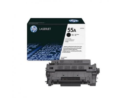 Заправка картриджа HP CE255A